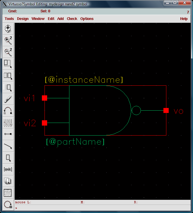 Tutorial  1  Drawing Transistor